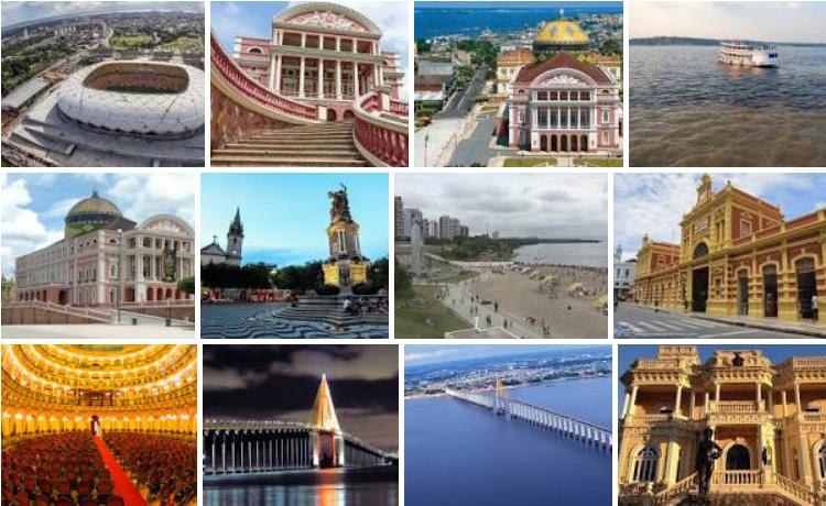 Manaus Pontos Turísticos