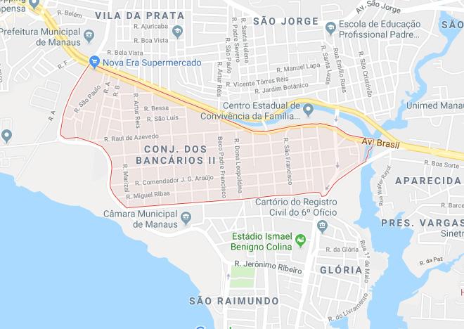 Bairro Santo Antônio Manaus